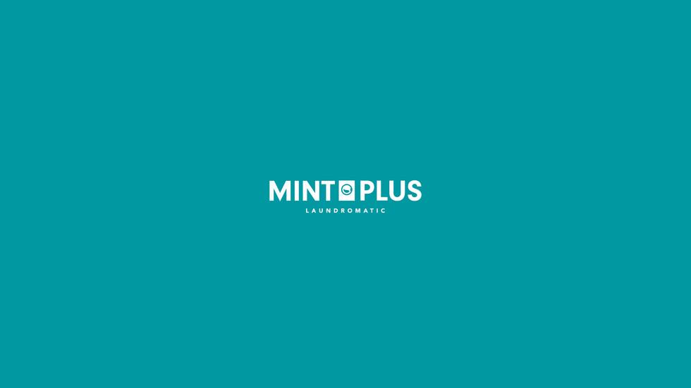 "Mint Plus : Identity Design / Information Signage Design   Mint Plus, Identity design, signage and icon design for laundromat, creating logo type with mint colour to represent meaning of it own name and feeling of hygienic and standard.  ออกแบบอัตลักษณ์, ป้ายข้อมูล และดัชนีภาพ ให้กับแบรนด์ ""มินท์ พลัส"" ร้านสะดวกซัก, โดยสร้างเป็นสัญลักษณ์ตัวอักษร และใช้สีมิ้นท์เพื่อสร้างความสอดคล้องกับชื่อแบรนด์ และเป็นสีที่แสดงถึงความสะอาด และความมีมาตรฐาน  Round and Nine  Bangkok, Thailand"