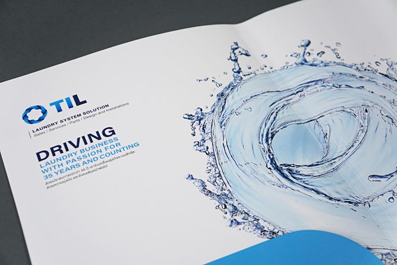THAI INTER LAUNDRY : Branding / Identity design / Logo design / Graphic design