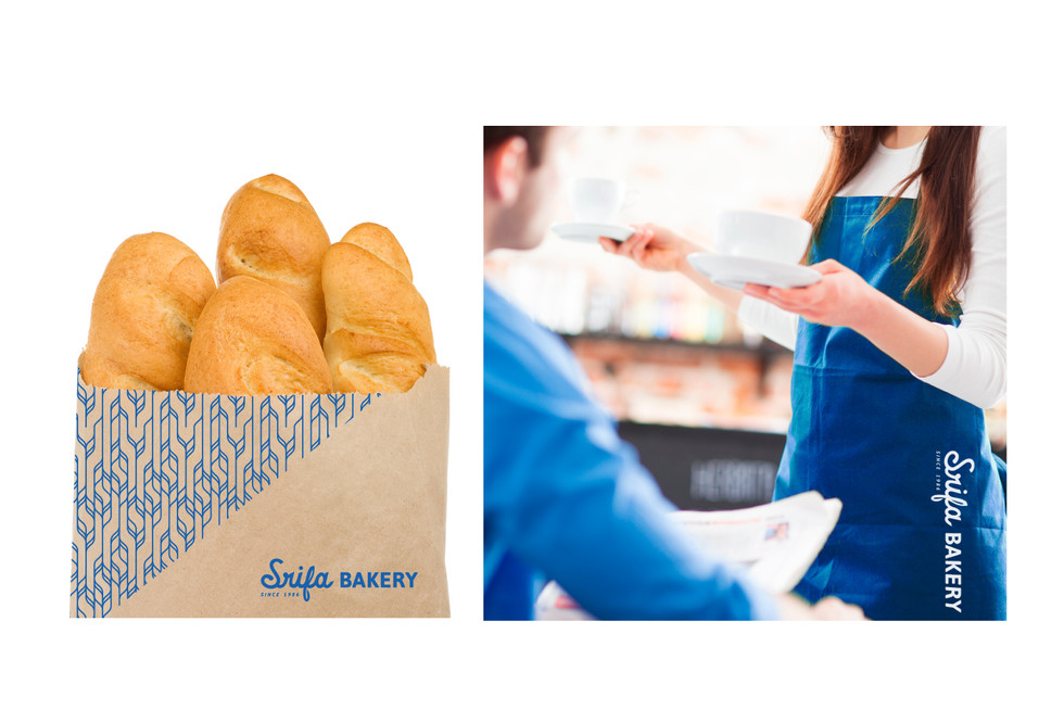 Srifa Bakery : Branding / Identity design / Logo design / Pattern Design