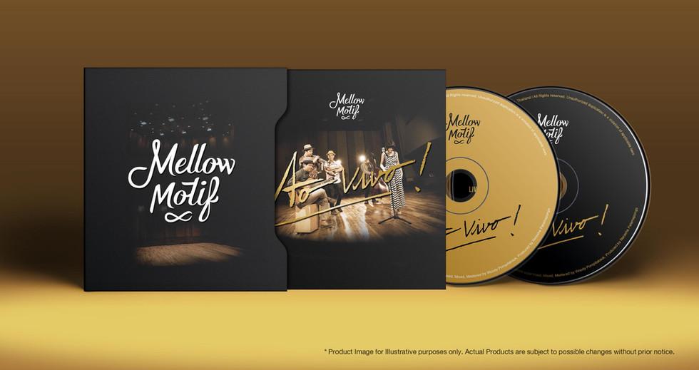 Ao vivo! : Album : Logo design / Packaging design / Editorial Design