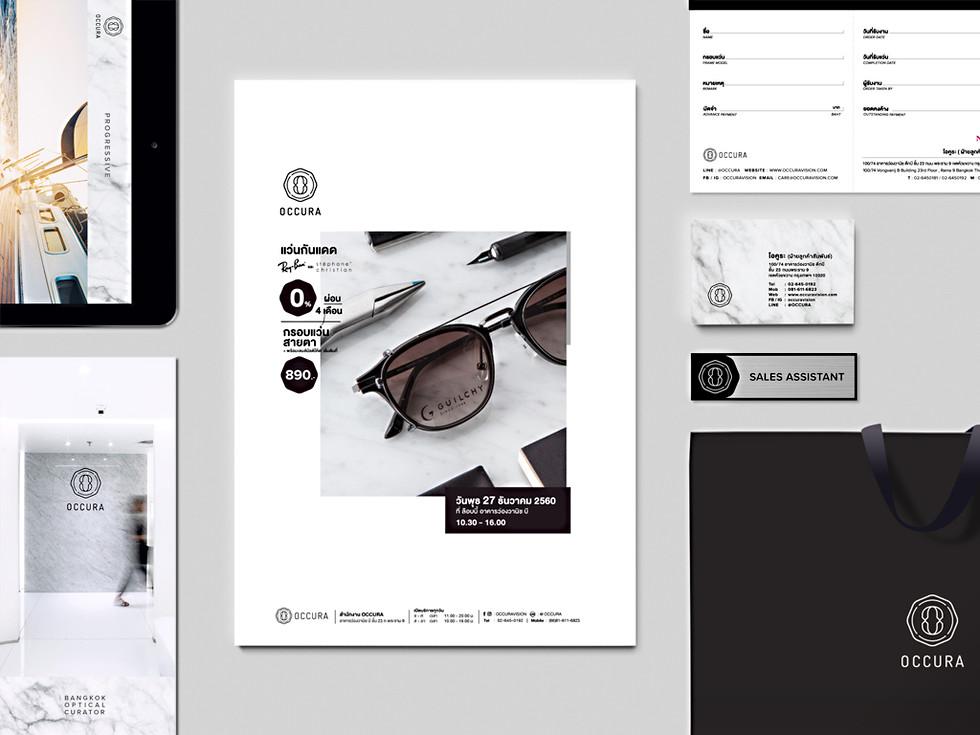 Occura : Branding / Identity design / Logo design / Interior adviser