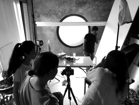 V Start : Photo shooting