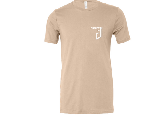 Future of D1 T-shirt in Tan (Desert Sand)