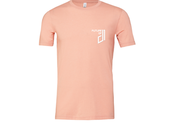 The Future of D1 Unisex T-shirt in Peach