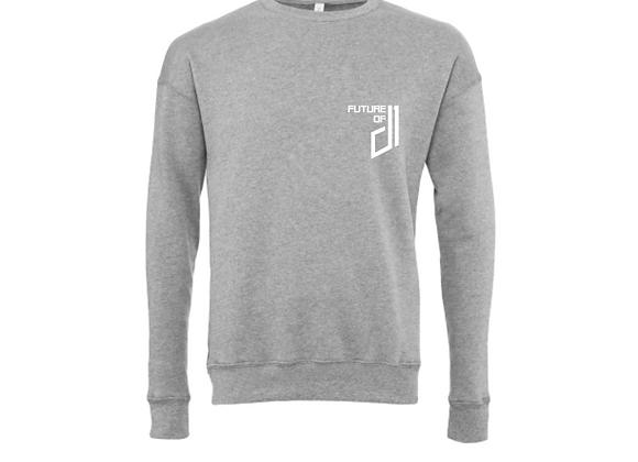 Future of D1 Crewneck Sweatshirt in Grey