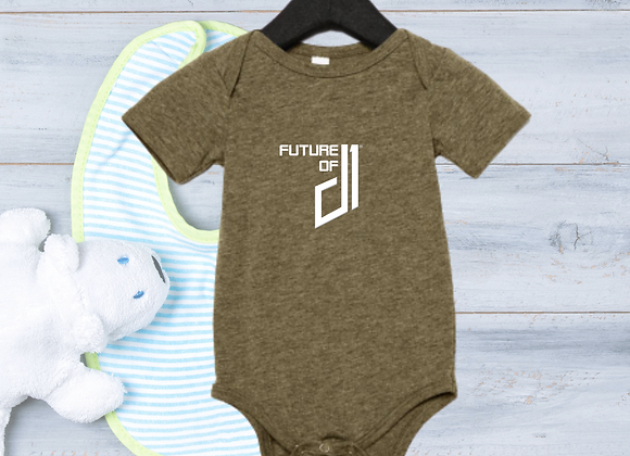 The Future of D1 Infant Romper - Olive