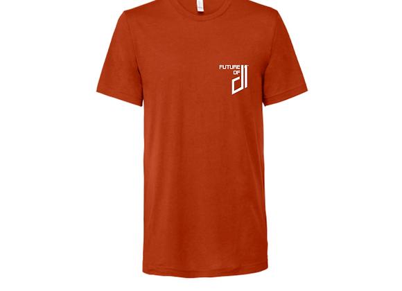 Future of D1 T-Shirt in Burnt Orange (Longhorn)