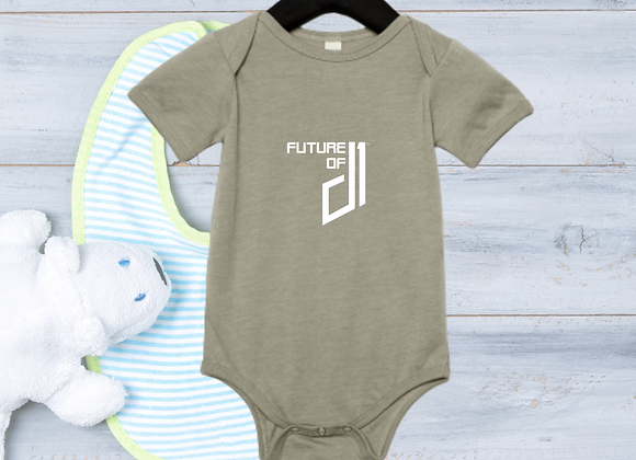 The Future of D1 Infant Romper - Clamshell