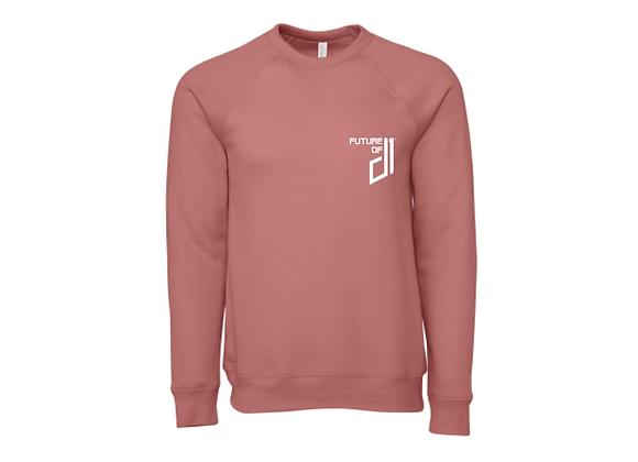 Future of D1 Crewneck Sweatshirt in Mauve