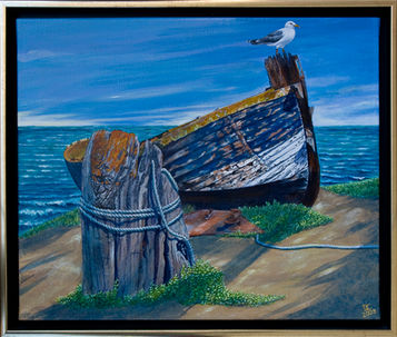 Retired Fishing Boat