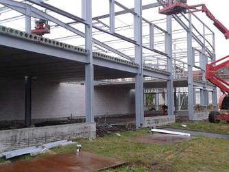 Réalisation en cours : les 6000m² du site Chauffamat Tourcoing
