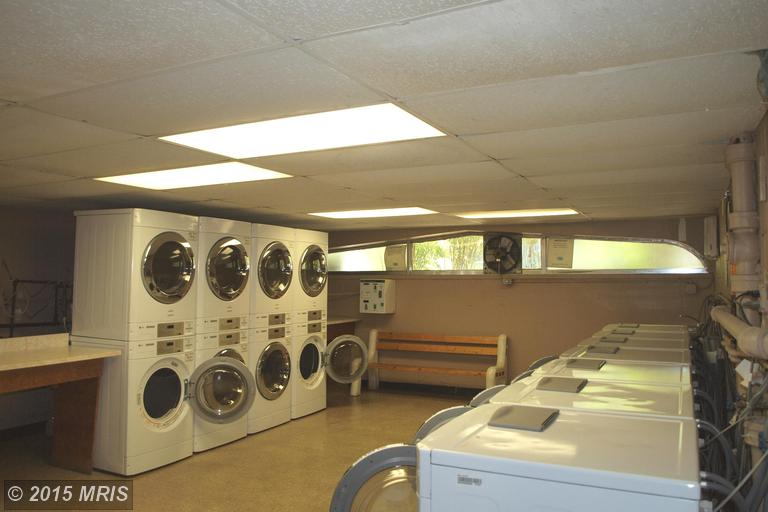 Our on-site laundry facility