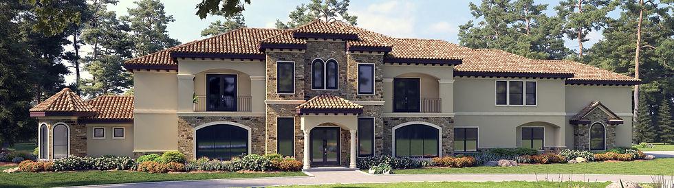 Large Residential Home, Custom Home Slid