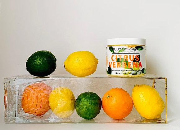 Citrus Verbena Whipped Soap Sugar Scrub