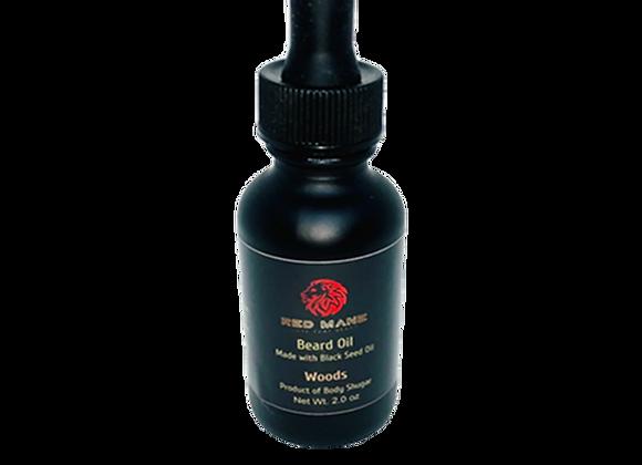 Woods Beard Oil x 2