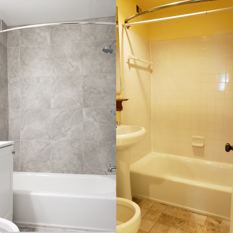 Tub Repair Before and After