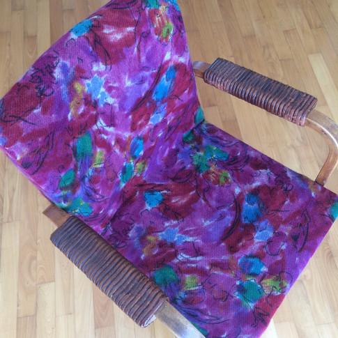 Vintage Alvaro Aalto Chair reupholstered