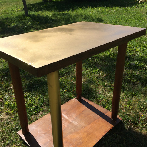 Vintage 1950's French coffee table.