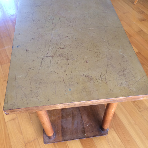 Vintage 1950's French coffee table