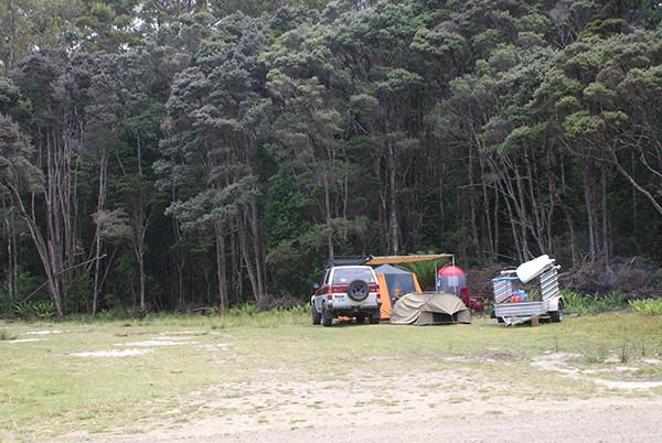 Gilhams Beach Camping