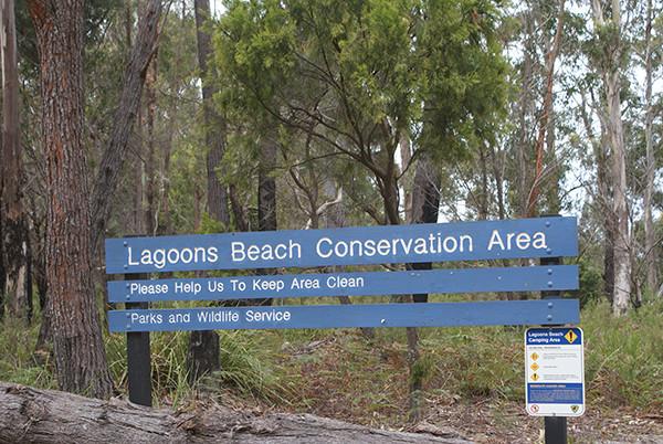 Lagoons Beach Camping