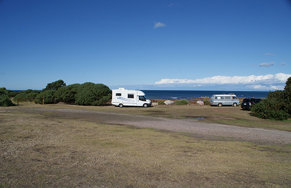 Hall Point Camping