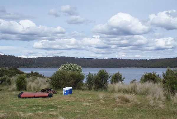 Bradys Lake West Camping