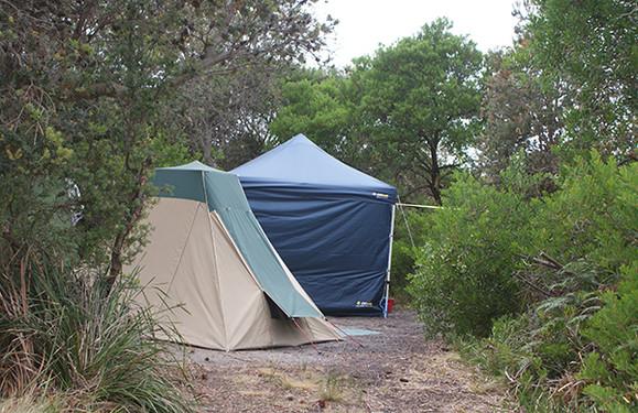 Dora Point Camping