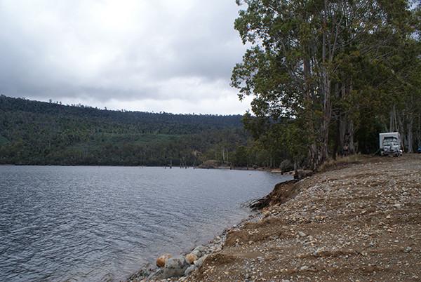 Lake Rowallan Boat Ramp Camping