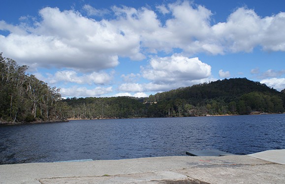 Lake Barrington Camping