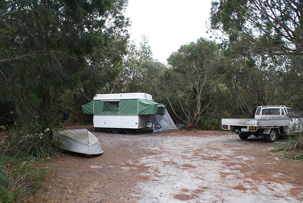 Swimcart Beach Camping