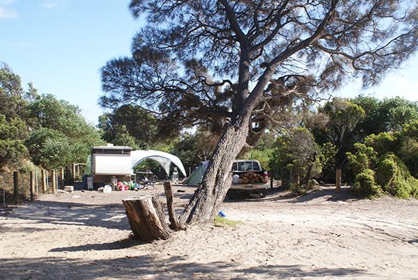 Ransons Beach Camping