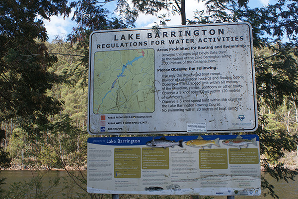 Lake Barrington Camping