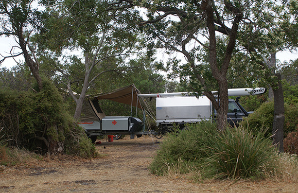 Policemans Point Camping
