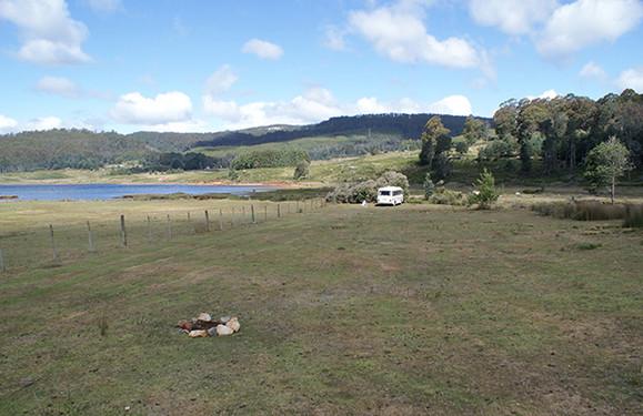 Lake Gairdner Camping