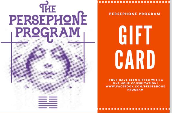 Persephone Program Gift Card