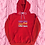 Thumbnail: THE UGLY HOODIE - RUBY