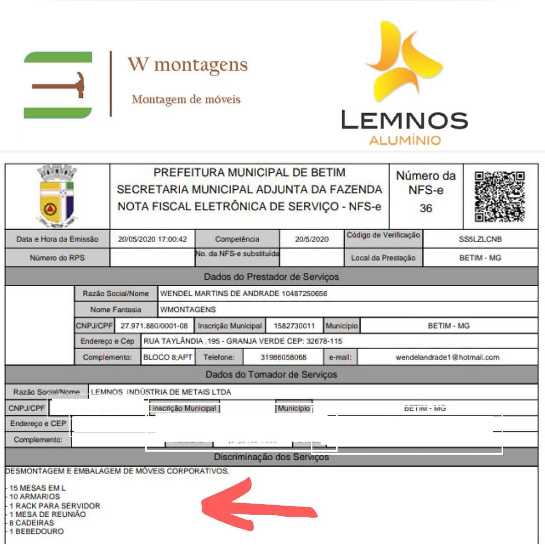CORP LEMNOS ALUMINIO