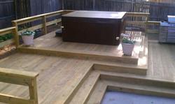 Three tier deck