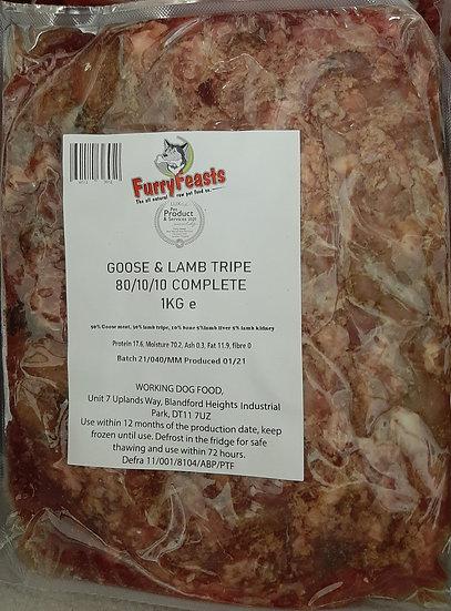 Goose and lamb tripe 1kg