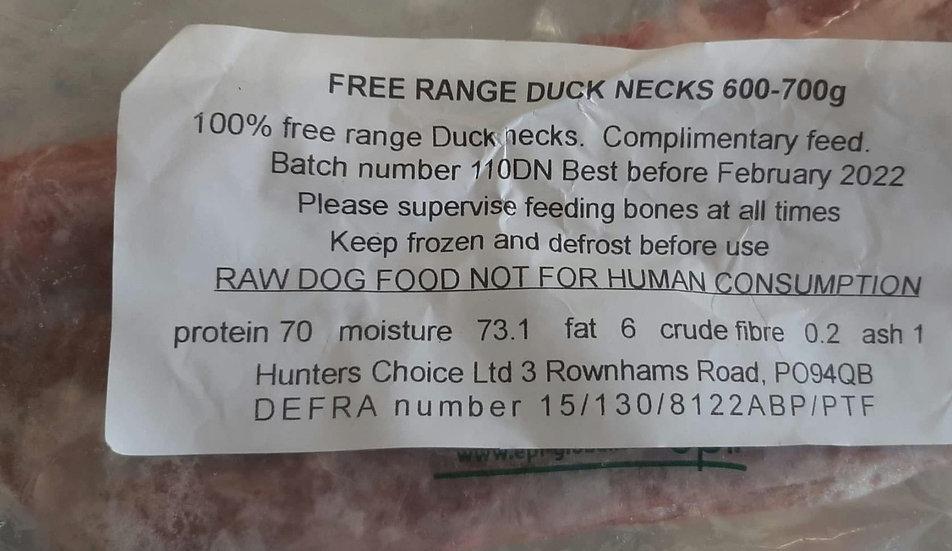 Hunters choice Duck necks 600g-700g