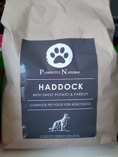 Pawfectly natural grain free Haddock (50% fish)