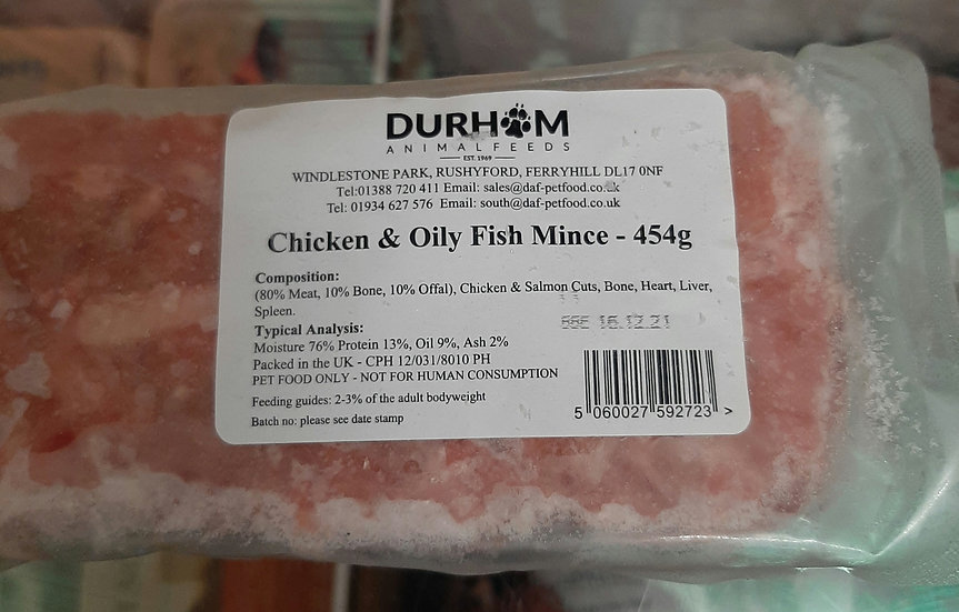 DAF chicken and oily fish