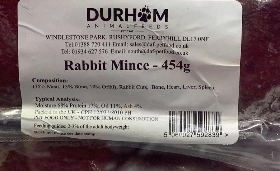 DAF minced rabbit 454g