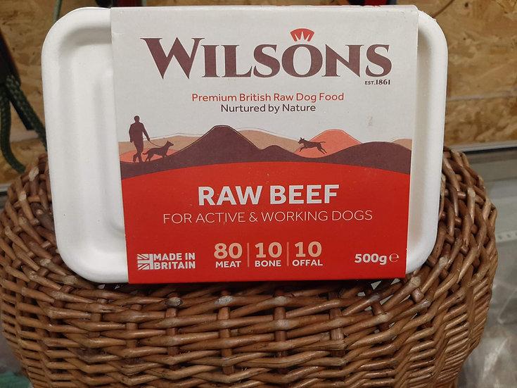 Wilson's raw beef 500g