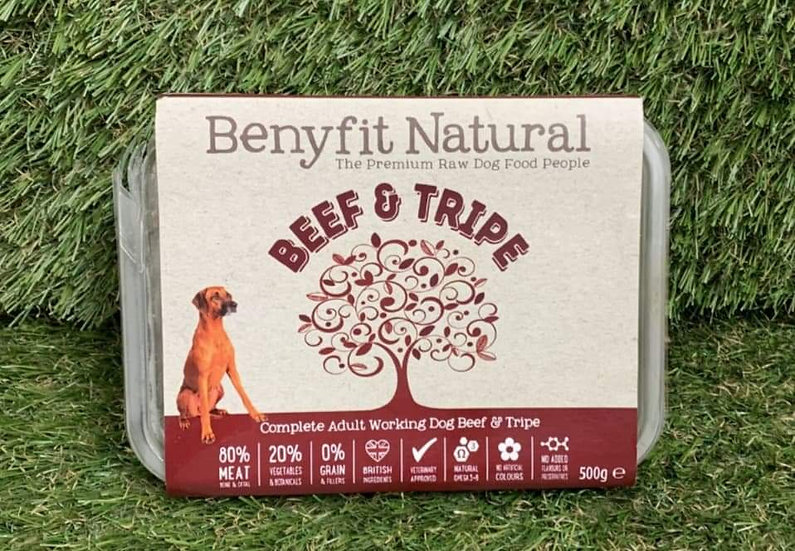 Benyfit beef and tripe 1kg