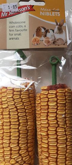 Mr Johnson's  maize cob niblets x2 pack