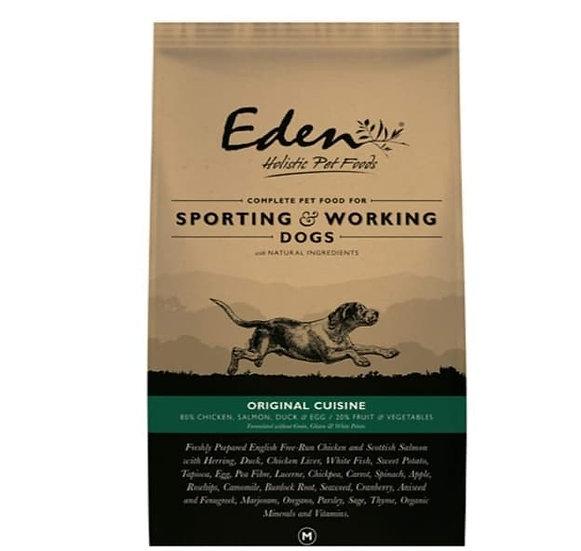 Eden holistic 15kg 80/20 working dog food