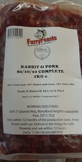 Rabbit and pork complete