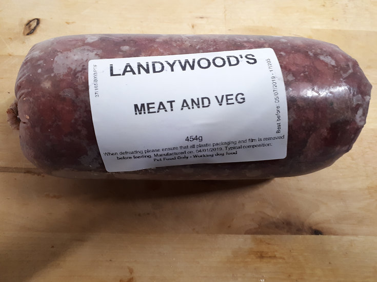Meat and veg 454g